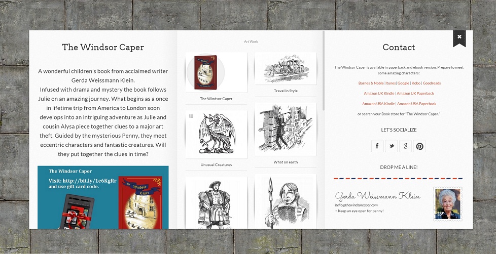We had a website challenge - The Windsor Caper
