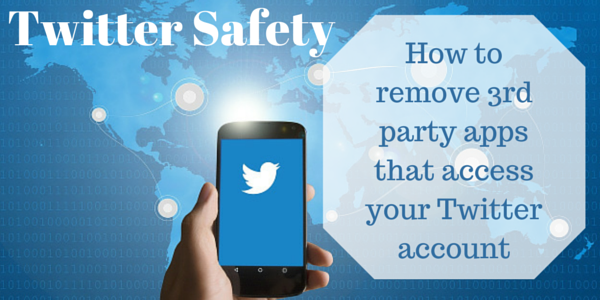 Removing apps that access your Twitter account