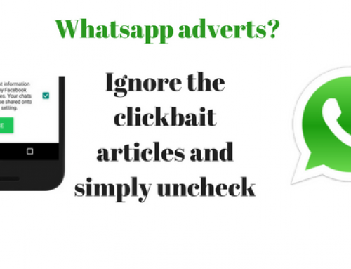 Not ads on WhatsApp, but sharing data to Facebook – How to opt out.
