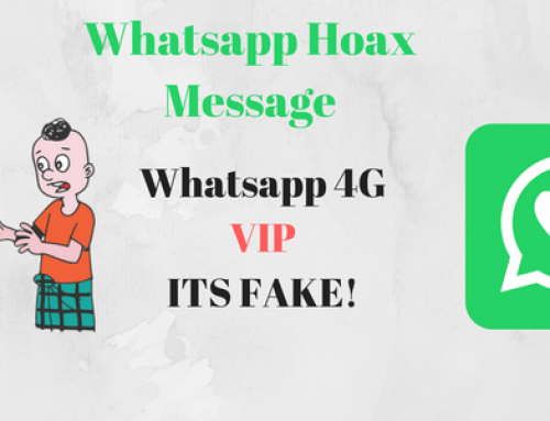 Whatsapp 4G VIP Scam fooling users again