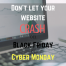 Prepare your Website for Black Friday and Cyber Monday