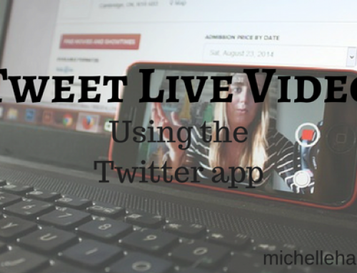 Tweet Live Video – Twitter app update