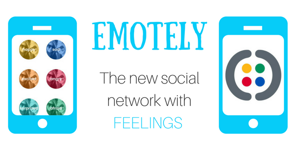 Emotely - the new social network with feelings
