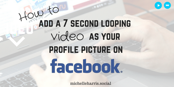 Remove term: How to add a 7 second looping video as your profile picture on Facebook How to add a 7 second looping video as your profile picture on Facebook