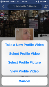 How to add a 7 second looping video as your profile picture on Facebook