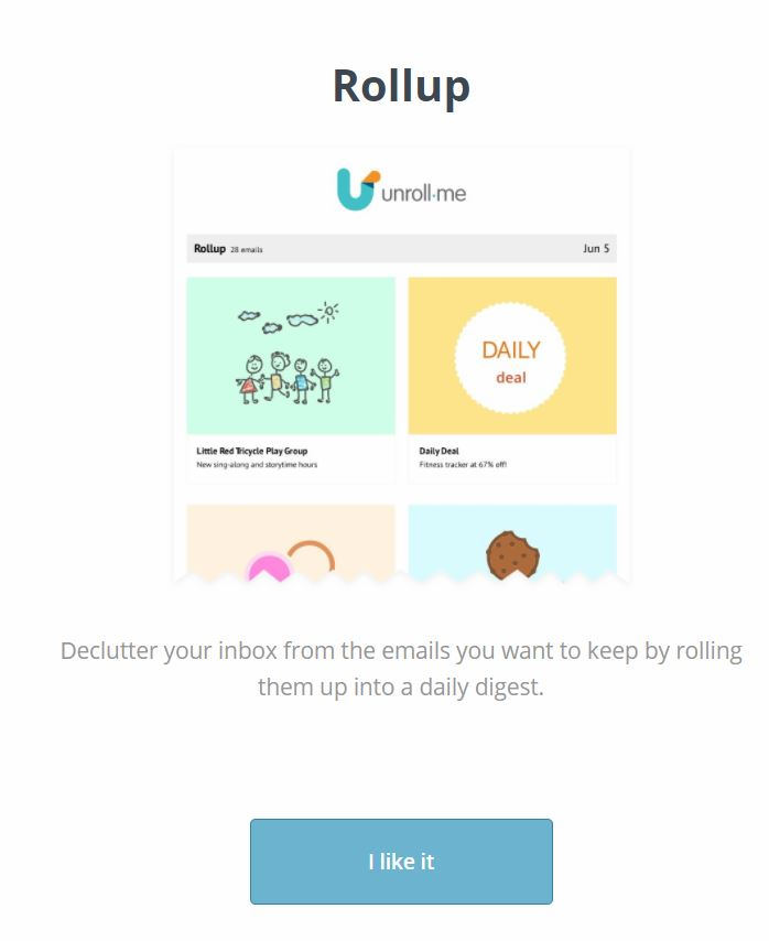 Clean up your Inbox with UnRoll Me