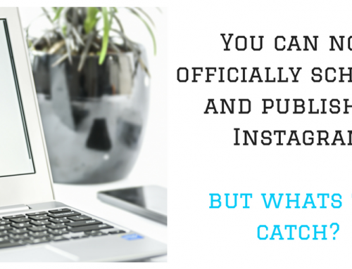 You can now officially schedule and publish on Instagram, but whats the catch?