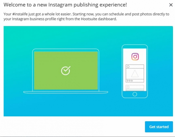 schedule and publish on Instagram