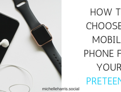 How to choose a mobile phone for a preteen