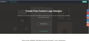 Create professional logos in minutes