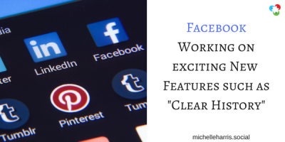 "Facebook Working on New Features such as ""Clear History"""