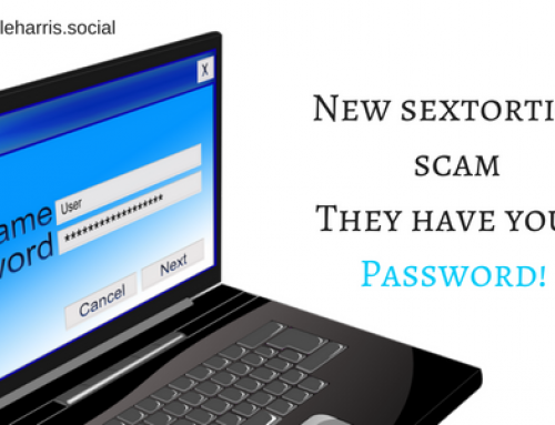 New sextortion scam – They have your password