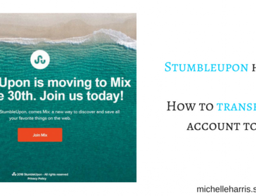 How to Transfer your StumbleUpon account to Mix