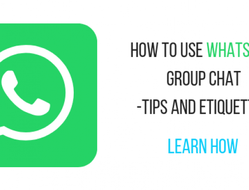 How to use group chat in WhatsApp Tips and Tricks
