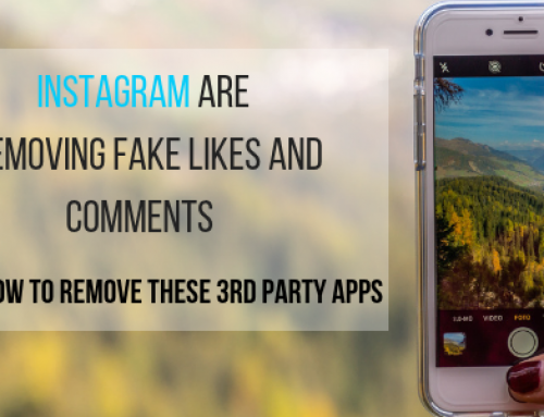 Instagram are removing fake likes and comments