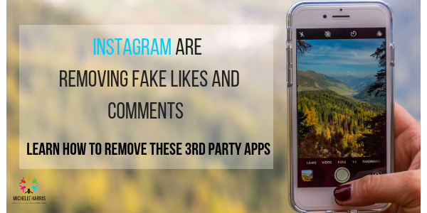 Instagram are removing fake likes and comments · Michelle Harris