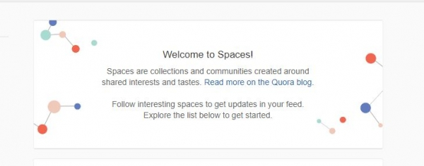 Quora introduces Spaces