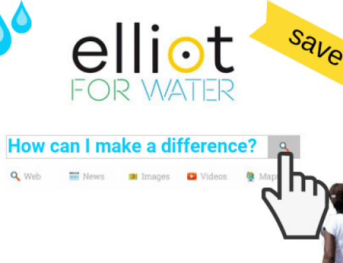 Save Lives with Elliot for Water the Social Good Search Engine