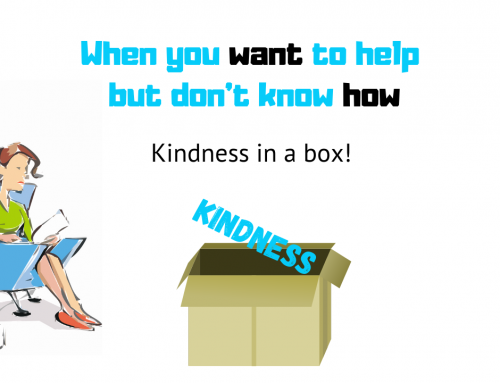 When you want to help but don't know how – Kindness in a box